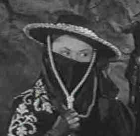 Linda Stirling stars in 'Zorro's Black Whip.'