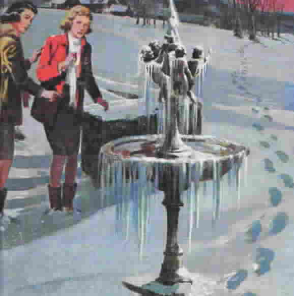 The Riddle of the Frozen Fountain