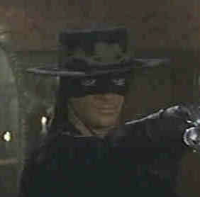 Antonio Banderas stars in 'The Mask of Zorro.'