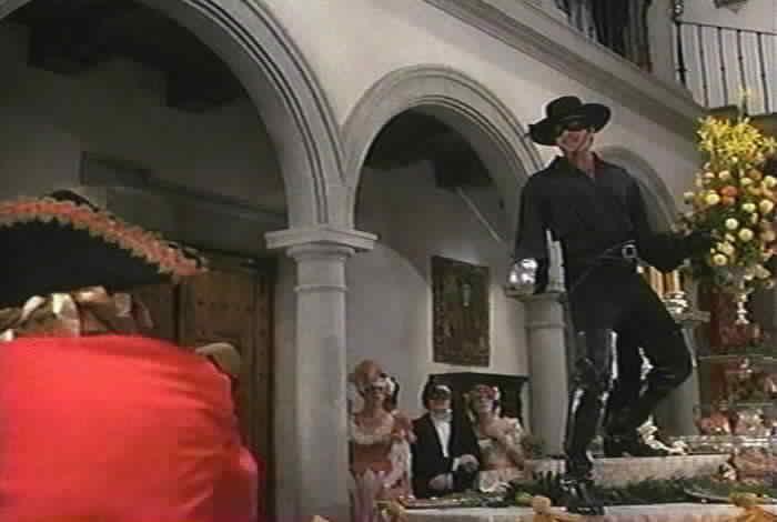 Zorro Fights Esteban During The Ball