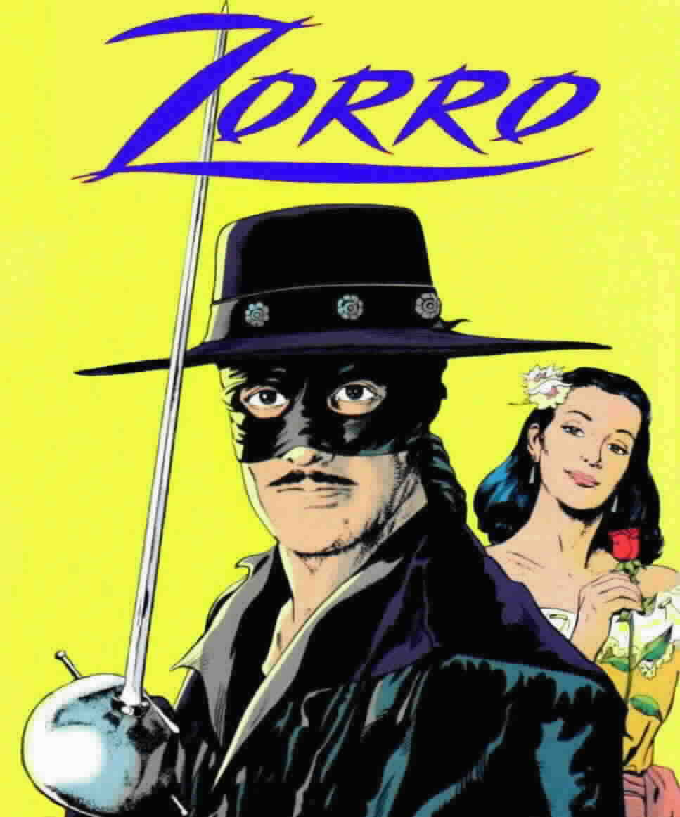 through the history of Zorro as the different versions of Zorro ...